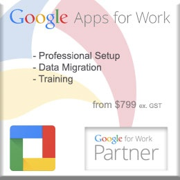 Google Apps for Work, Professional Setup, Data Migration, Training