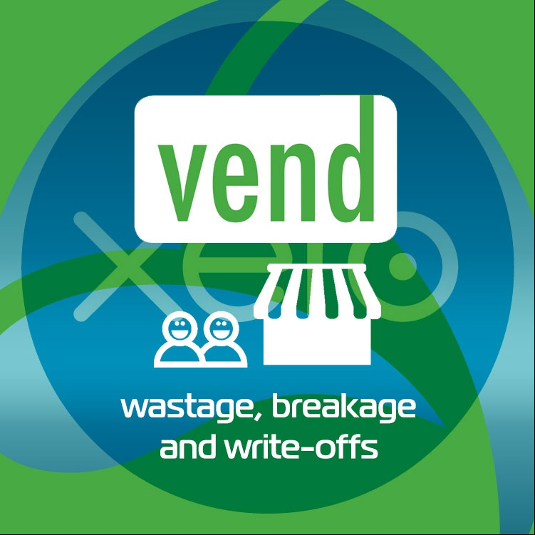 Vend Xero Managing Wastage, Breakage and write-offs