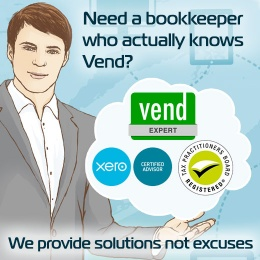 Vend Xero Bookkeeper BAS Agent