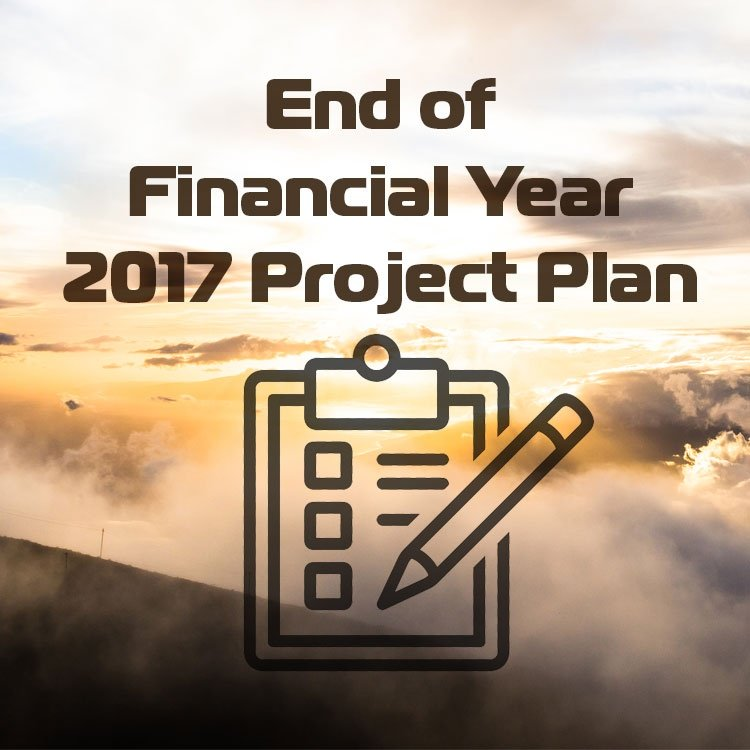 End of Financial Year 2017 Project Plan