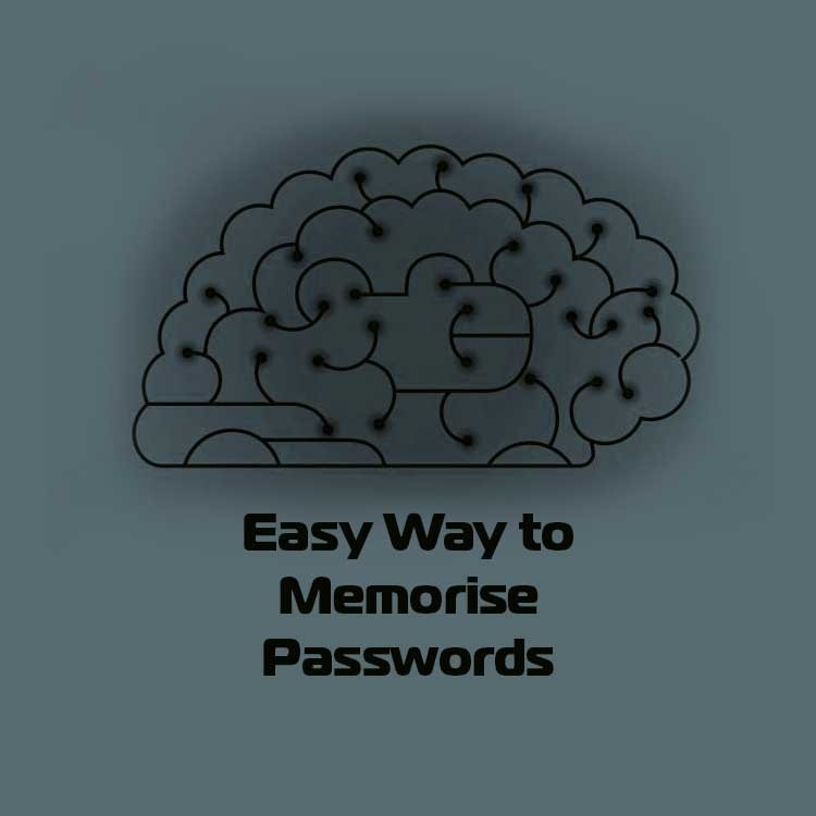 easy way to memorise remember passwords