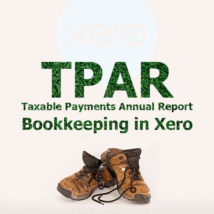 Bookkeeping for TPAR in Xero