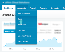 Xero Accounts Sales