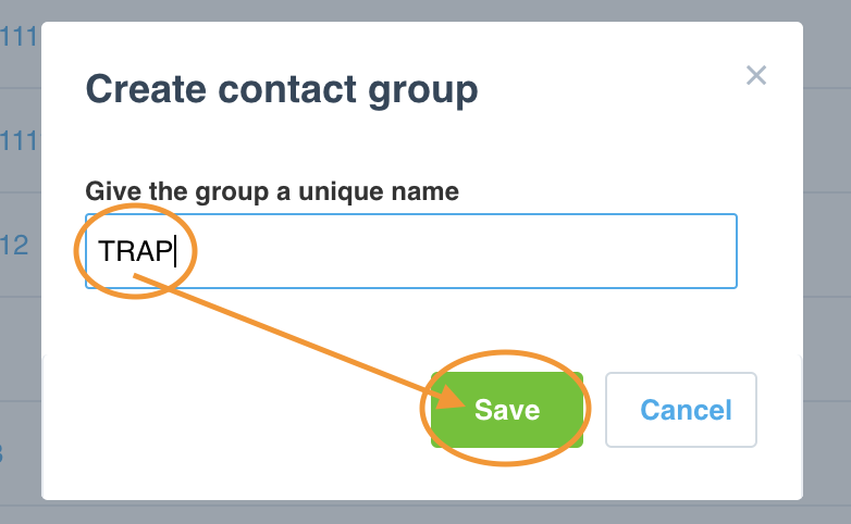 Save Xero Contact Group for TPAR