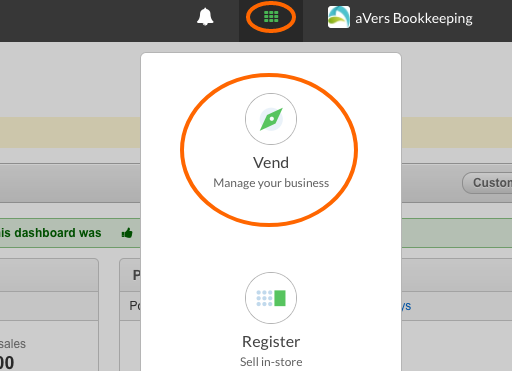 Vend Manage your business adding bookkeeper to your account