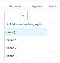 Tracking Categories in Xero Invoices