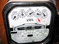 Old Electricity Meter Home Office Business