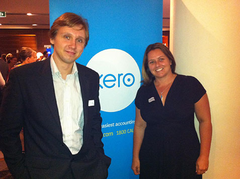 Nick and Kirsten starting bookkeeping business with Xero