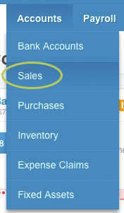 Manage your recurring invoices Xero
